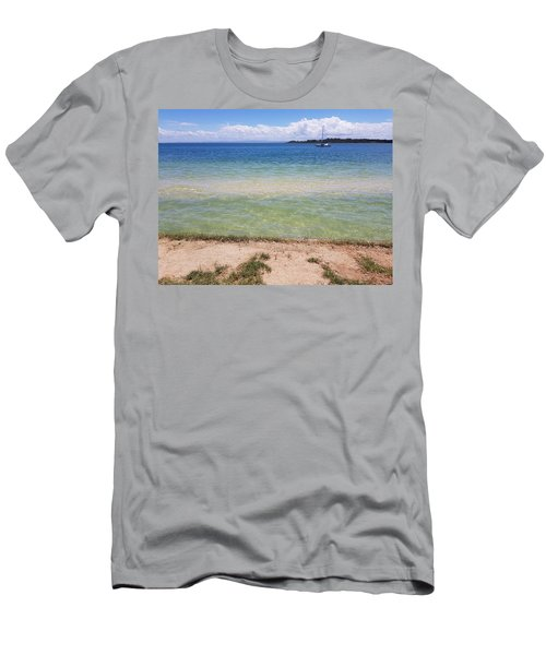 Bribie Ocean  Men's T-Shirt (Athletic Fit)