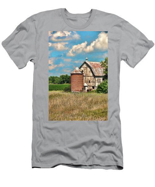 Brick Silo Men's T-Shirt (Slim Fit) by Trey Foerster