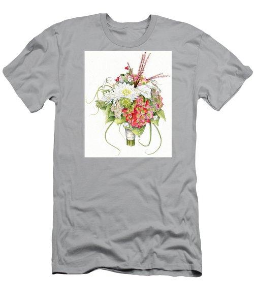Bridal Bouquet Men's T-Shirt (Athletic Fit)