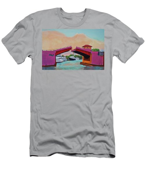 Bridge At Se 3rd Men's T-Shirt (Athletic Fit)