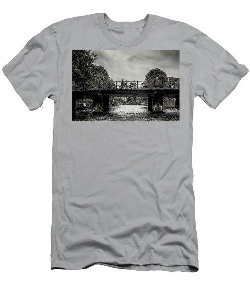 Bridge Over Still Water Men's T-Shirt (Athletic Fit)