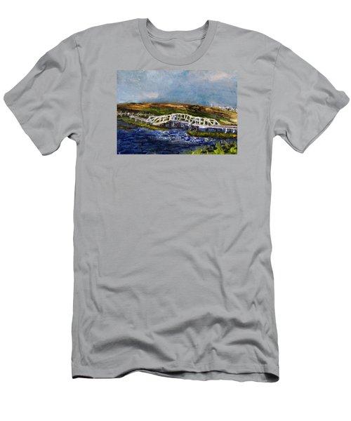 Bridge Over The Marsh Men's T-Shirt (Athletic Fit)