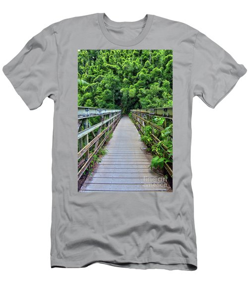 Bridge To Bamboo Forest Men's T-Shirt (Athletic Fit)