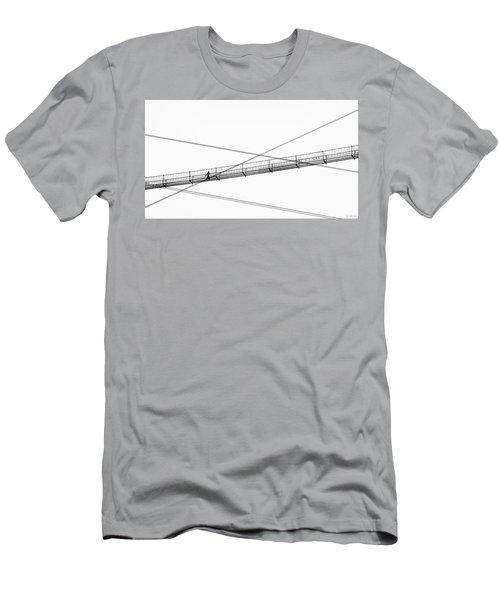 Bridge Walker Men's T-Shirt (Slim Fit) by Joe Bonita