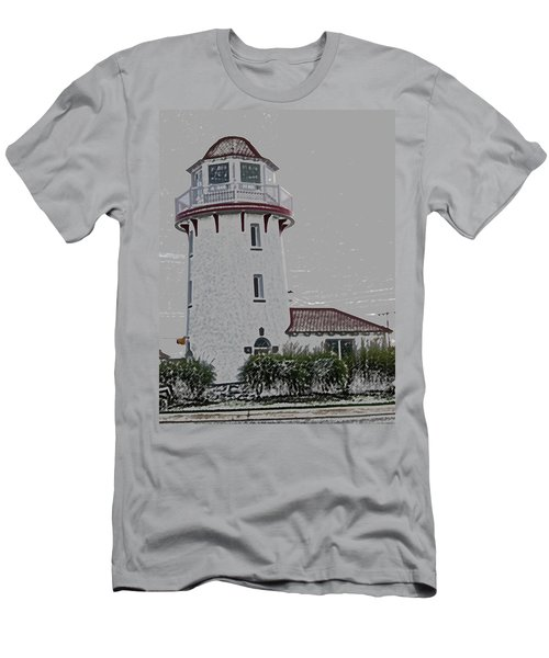 Brigantine Lighthouse Men's T-Shirt (Athletic Fit)