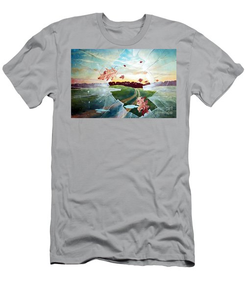 Broken Pane Men's T-Shirt (Athletic Fit)
