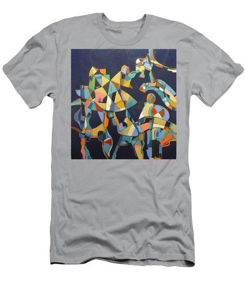 Broken Promises Last Forever Men's T-Shirt (Slim Fit) by Bernard Goodman