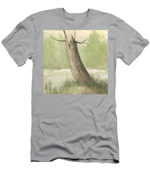 Broken Tree Men's T-Shirt (Athletic Fit)