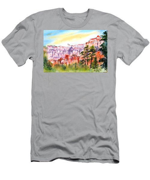 Bryce Canyon #3 Men's T-Shirt (Slim Fit) by Betty M M Wong