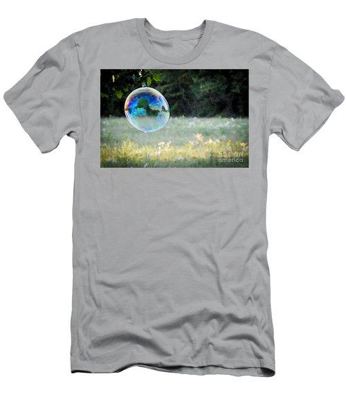Bubble Men's T-Shirt (Athletic Fit)