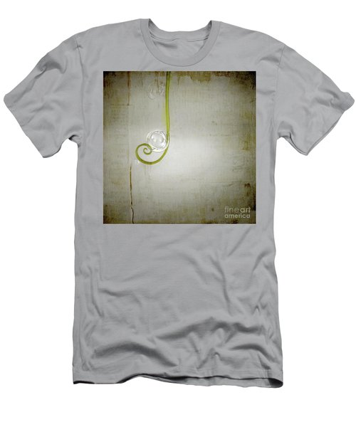 Men's T-Shirt (Slim Fit) featuring the digital art Bubbling - 02tt04a by Variance Collections