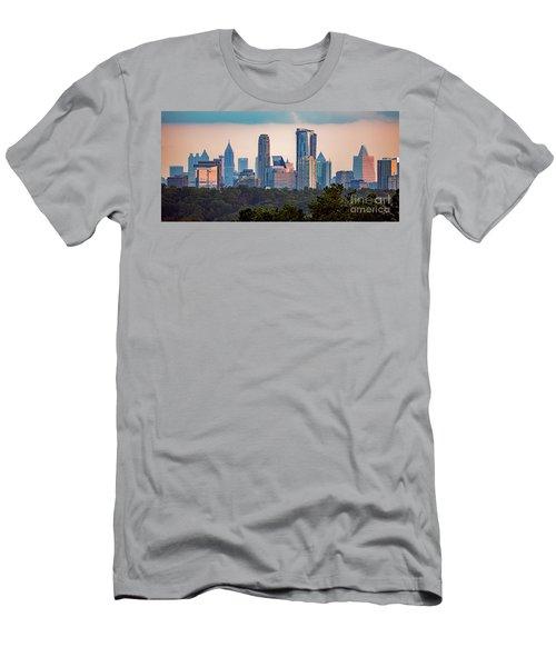 Buckhead Atlanta Skyline Men's T-Shirt (Athletic Fit)