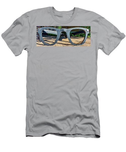 Buddy Holly Glasses Men's T-Shirt (Athletic Fit)