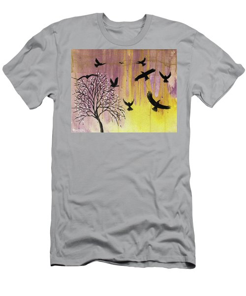 Men's T-Shirt (Athletic Fit) featuring the painting Building A Legacy by Nathan Rhoads