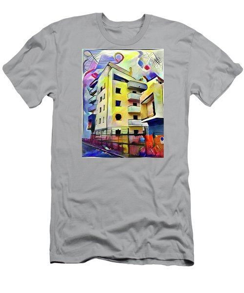 Building Site #1 Men's T-Shirt (Athletic Fit)