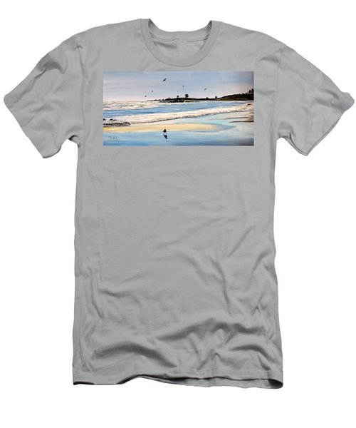 Bull Beach Men's T-Shirt (Athletic Fit)