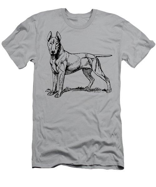 Bull Terrier Men's T-Shirt (Athletic Fit)