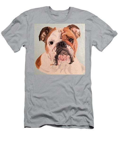 Bulldog Beauty Men's T-Shirt (Athletic Fit)
