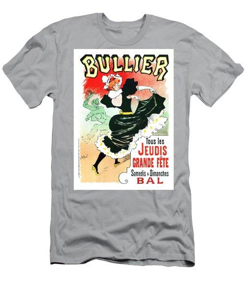 Bullier - Jeudis Grande Fete - Exposition - Vintage Advertising Poster Men's T-Shirt (Athletic Fit)