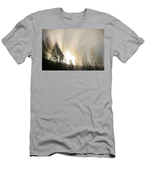 Burning Through The Fog Men's T-Shirt (Athletic Fit)
