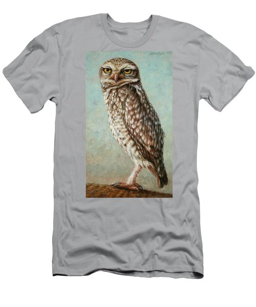 Burrowing Owl Men's T-Shirt (Athletic Fit)