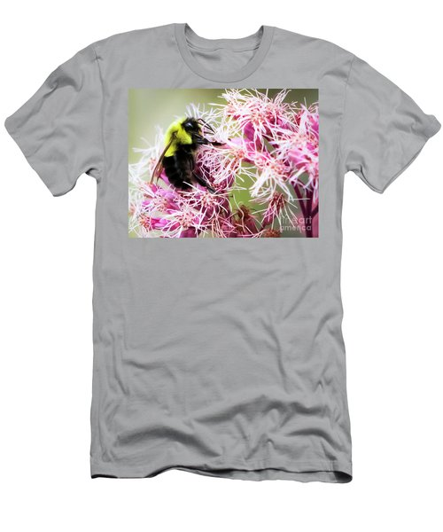 Men's T-Shirt (Athletic Fit) featuring the photograph Busy As A Bumblebee by Ricky L Jones