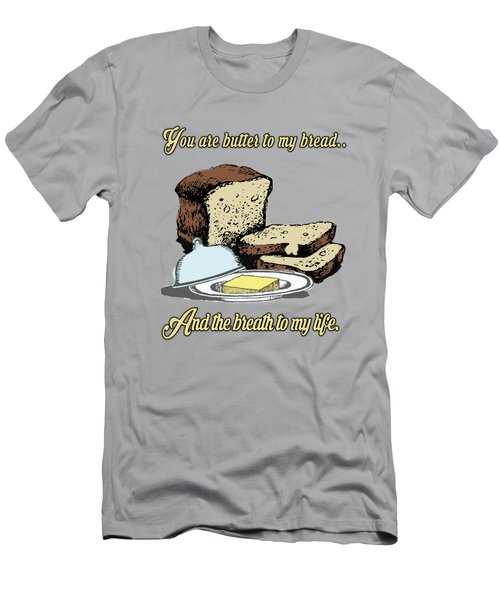 Butter To My Bread.. Love Dictionary Art Men's T-Shirt (Athletic Fit)