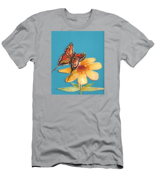 Butterflower Men's T-Shirt (Athletic Fit)