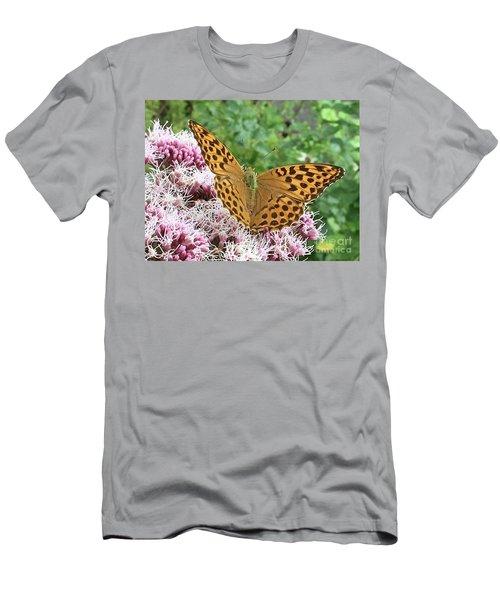 Butterfly Argynnis Paphia  Men's T-Shirt (Athletic Fit)