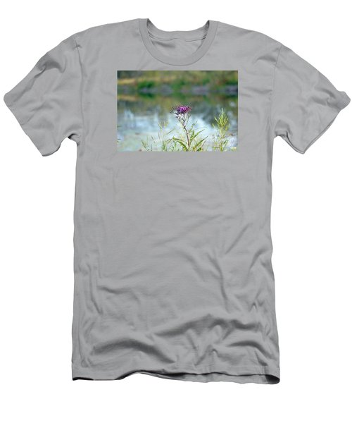 By The Pond Men's T-Shirt (Slim Fit) by Lila Fisher-Wenzel