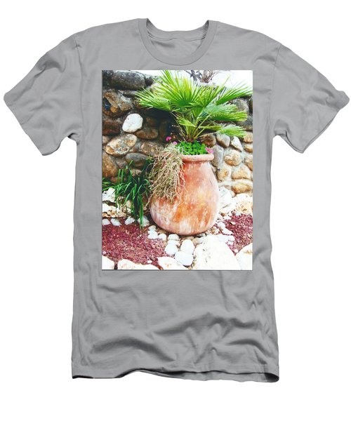Men's T-Shirt (Slim Fit) featuring the photograph By The Roadside by B Wayne Mullins