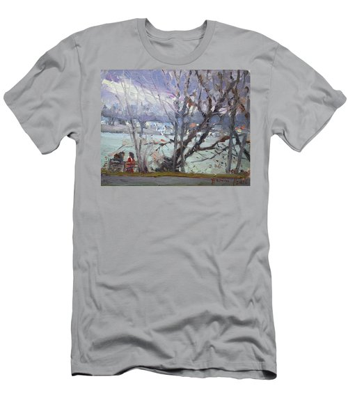 By Tonawanda Canal Men's T-Shirt (Athletic Fit)