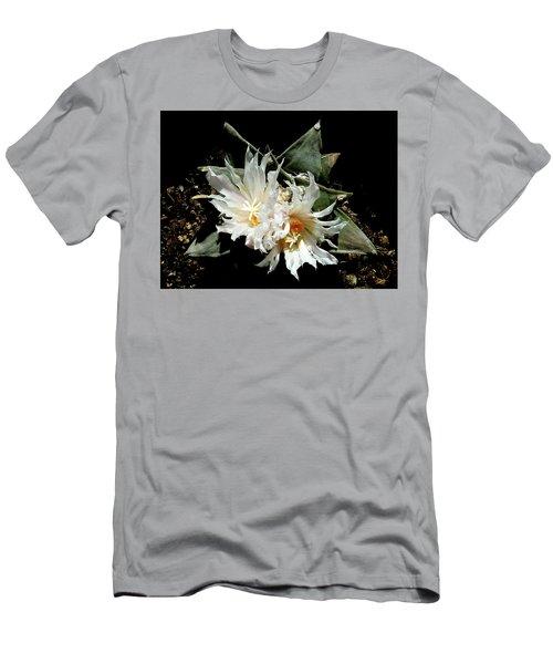 Cactus Flower 9 2 Men's T-Shirt (Athletic Fit)