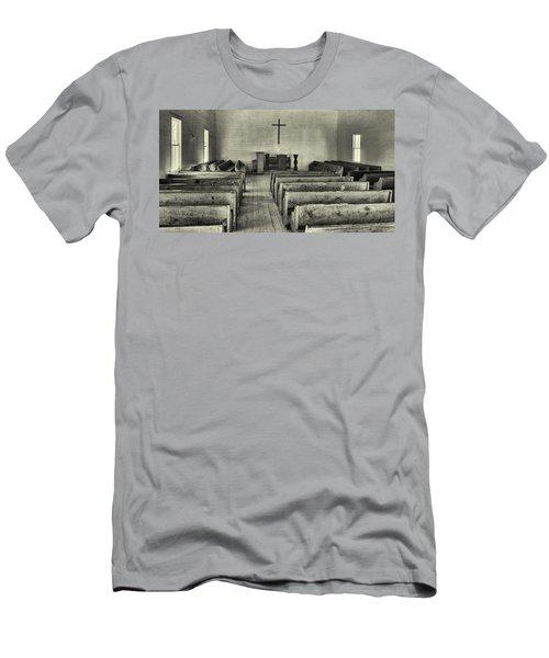 Cades Cove Methodist Church Men's T-Shirt (Athletic Fit)