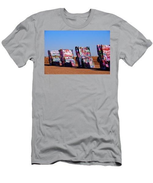 Cadillac Ranch  Men's T-Shirt (Athletic Fit)