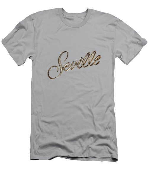 Cadillac Seville Emblem Men's T-Shirt (Slim Fit) by YoPedro