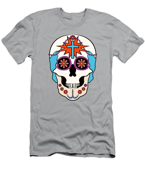 Calavera Graphic Men's T-Shirt (Slim Fit) by MM Anderson
