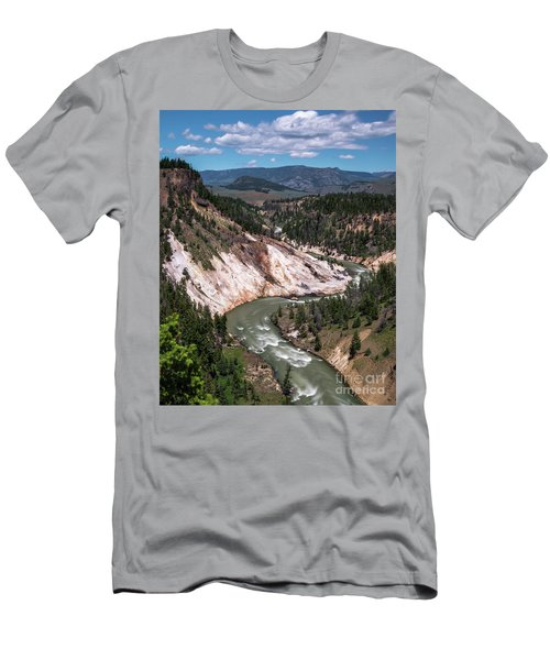 Calcite Springs Overlook  Men's T-Shirt (Athletic Fit)