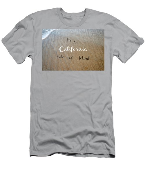 Cali State Of Mind Men's T-Shirt (Athletic Fit)