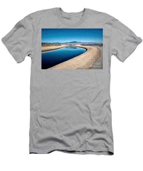 California Aqueduct At Fairmont Men's T-Shirt (Athletic Fit)