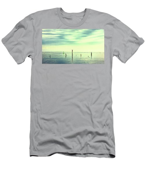 Men's T-Shirt (Athletic Fit) featuring the photograph Calm Bayshore Morning N0 1 by Gary Slawsky
