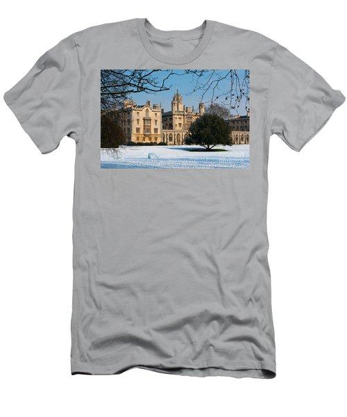 Cambridge Snowscape Men's T-Shirt (Athletic Fit)