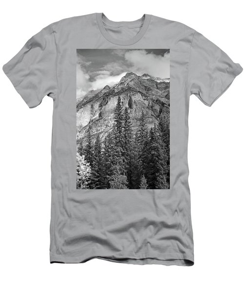 Canadian Rockies No. 2-2 Men's T-Shirt (Athletic Fit)