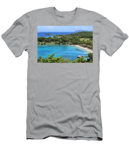 Caneel Bay St. John Men's T-Shirt (Athletic Fit)