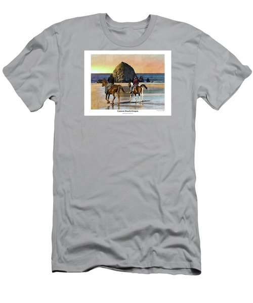 Cannon Beach Men's T-Shirt (Athletic Fit)