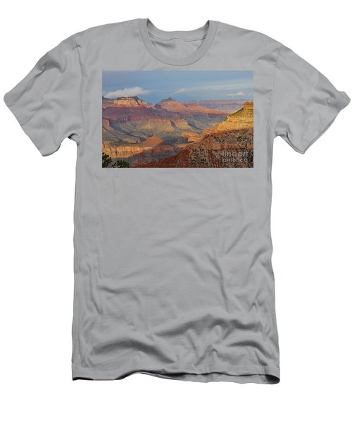Canyon Sunset Men's T-Shirt (Athletic Fit)