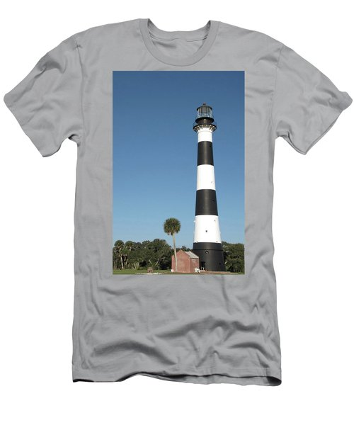 Cape Canaveral Lighthouse  Men's T-Shirt (Athletic Fit)