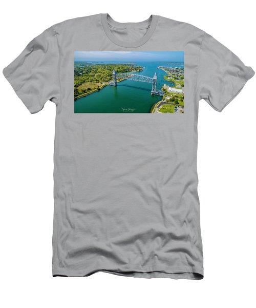 Cape Cod Canal Railroad Men's T-Shirt (Athletic Fit)