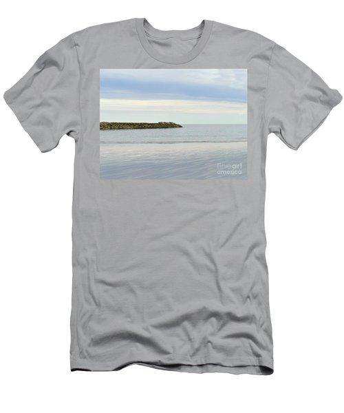 Cape Cod Jetty Sundown Men's T-Shirt (Athletic Fit)