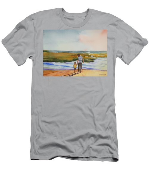 Cape Cod Sunset Men's T-Shirt (Athletic Fit)